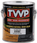 TWP 100 Series Wood Deck Stain Ratings