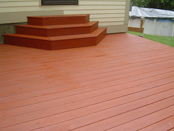 Film Forming Deck Stain