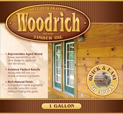 TimberOil Brand Stain - For New Decks