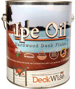 IPE Oil Hardwood Stain Review
