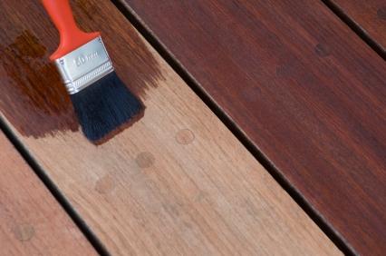 Exotic Hardwood Deck Staining