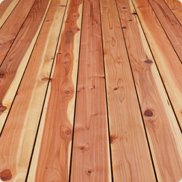 New Redwood Deck Stain