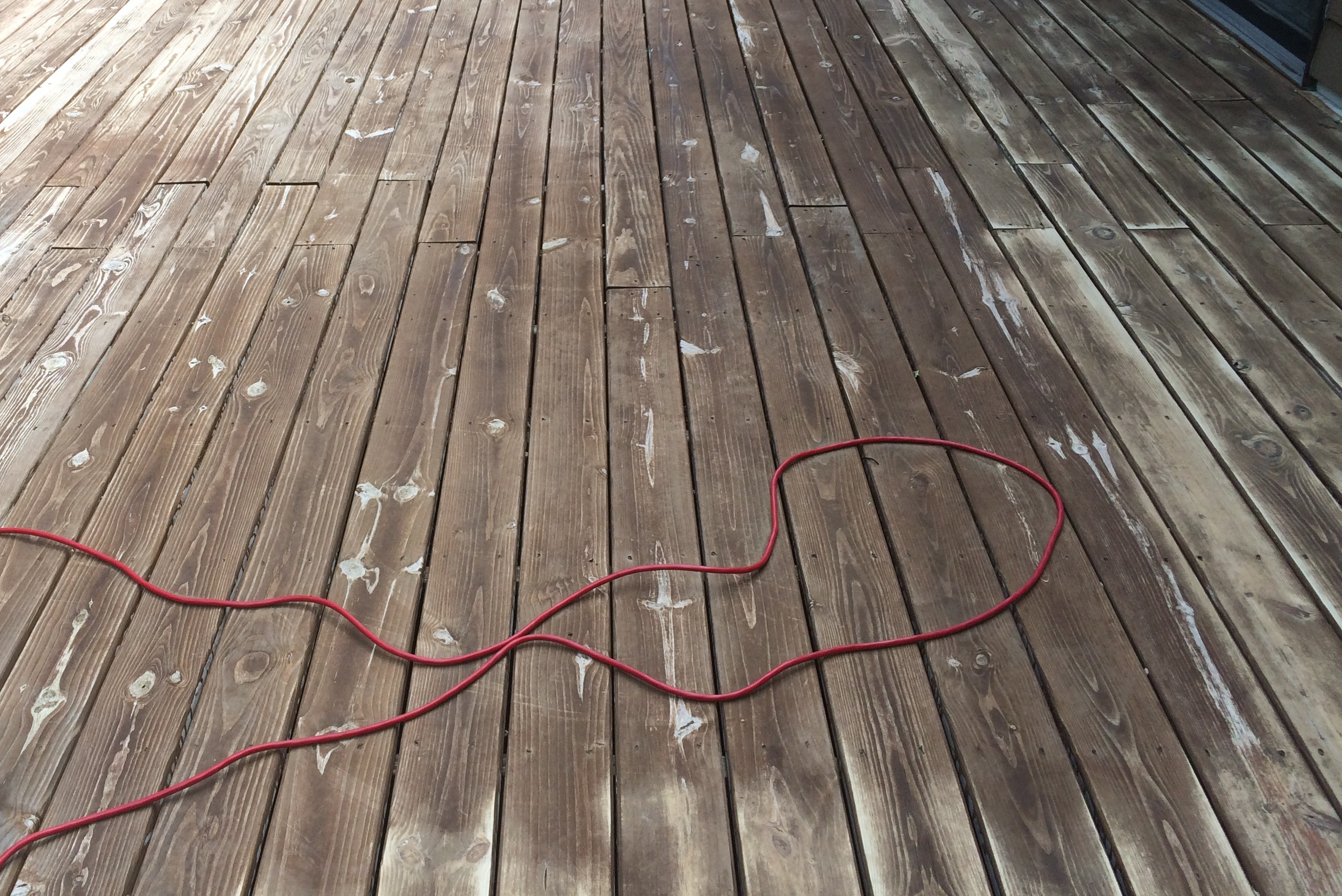 White Residue On Stained Pine Deck Deck Stain Questions