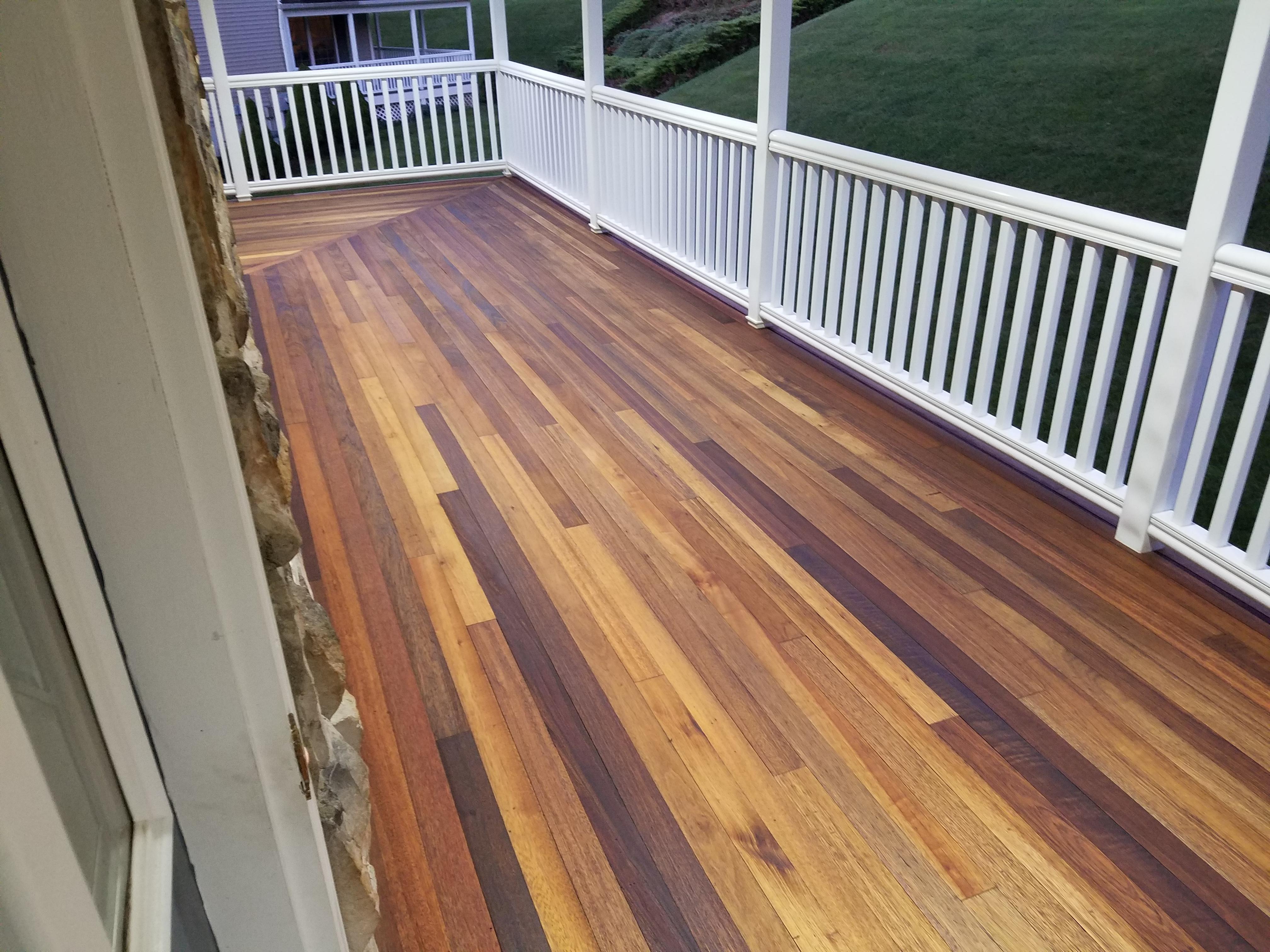 Penofin For Hardwood Deck Stain