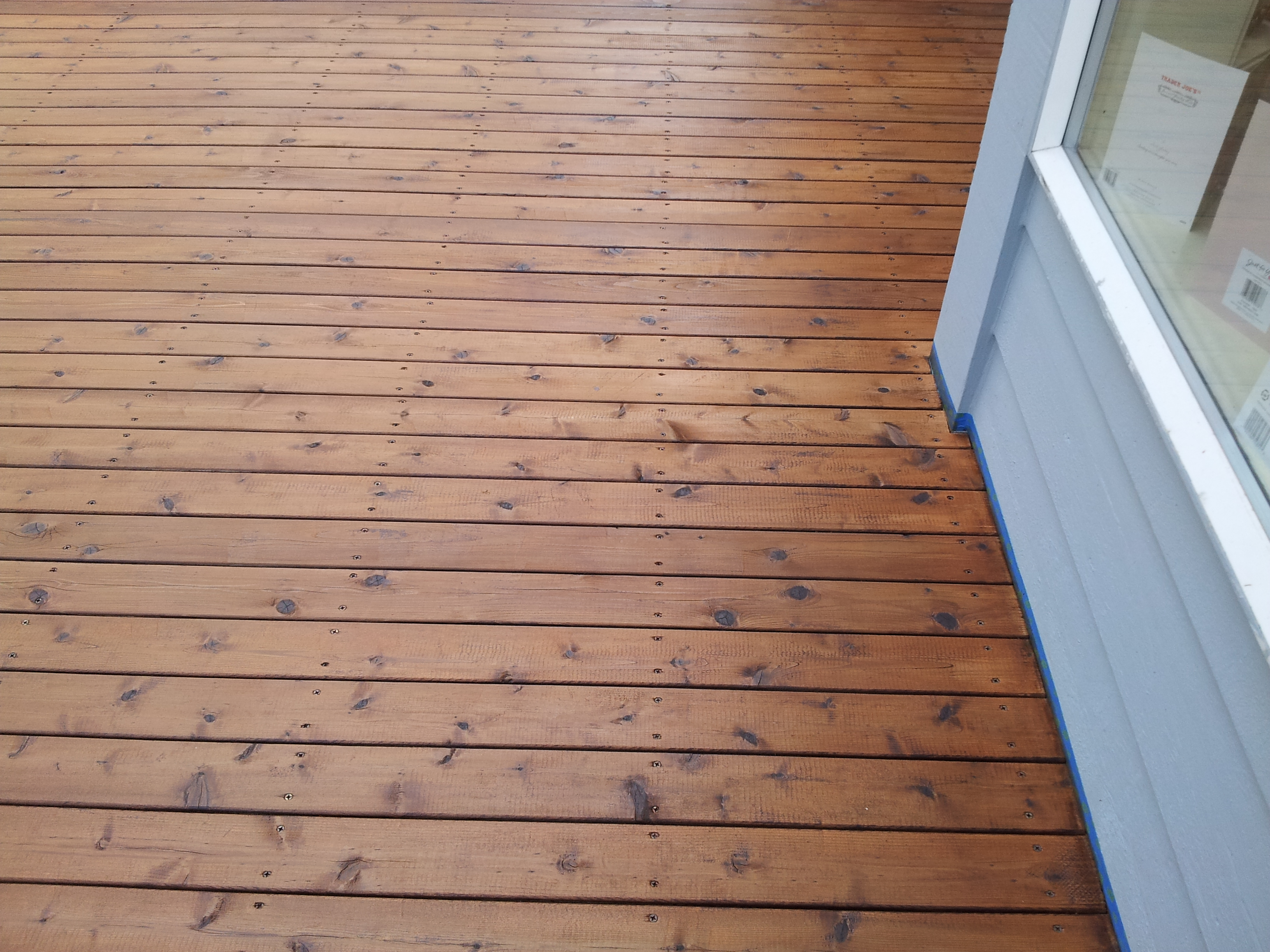 Oil Based Deck Stains