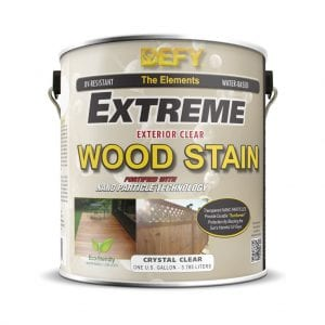 Defy Extreme Clear Wood Stain Review