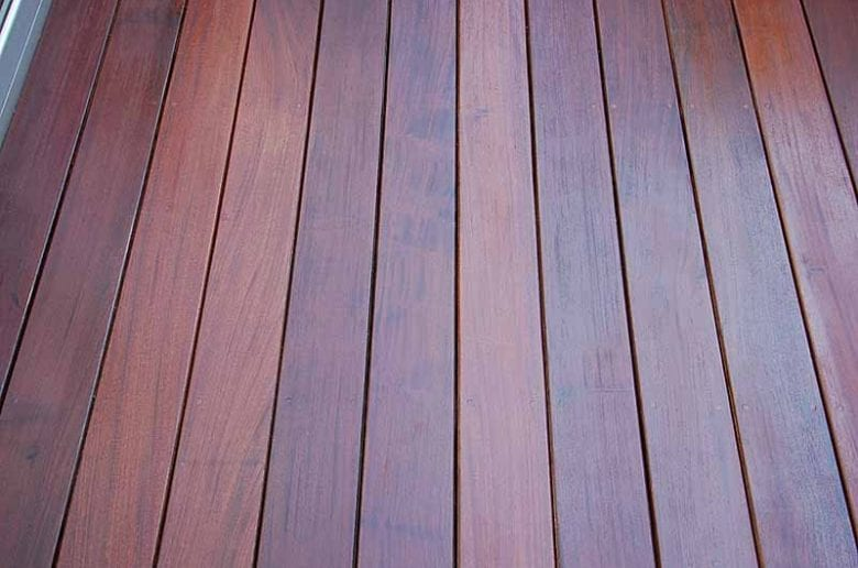 IPE Stained Deck Review