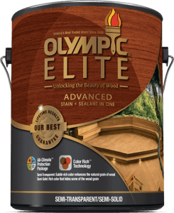 Olympic Elite Wood and Deck Stain Review