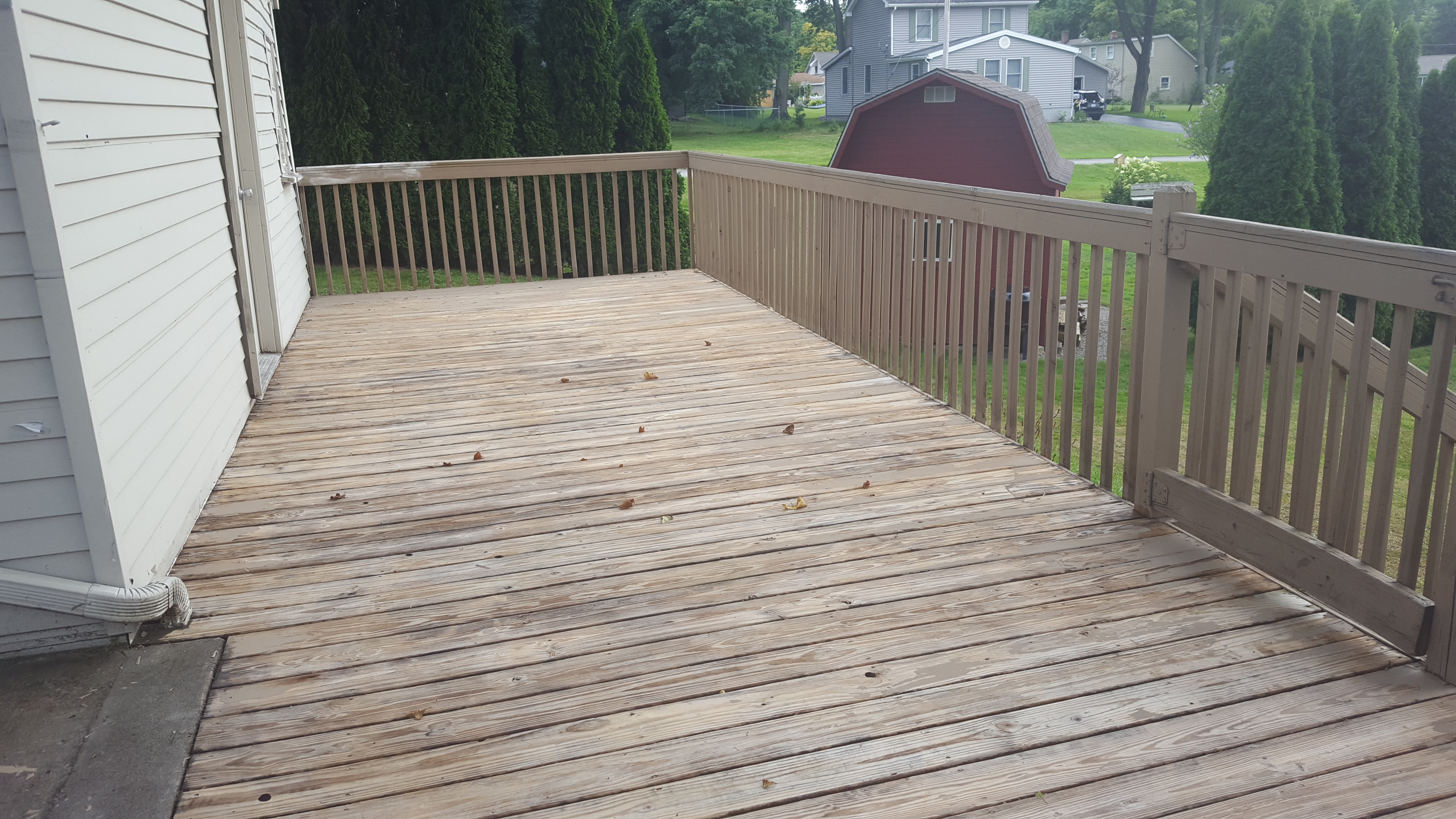 Removing Peeling Paint From Deck