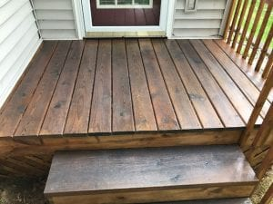 Restore A Deck Stain Damp Wood Application