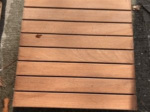 Restore-A-Deck Stain on IPE after 9 months