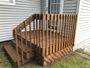 Deck Prep and Stain in One Day