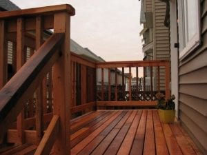 How To Stain Deck Spindles