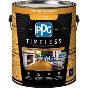 PPG Timeless Wood and Deck Stain Review