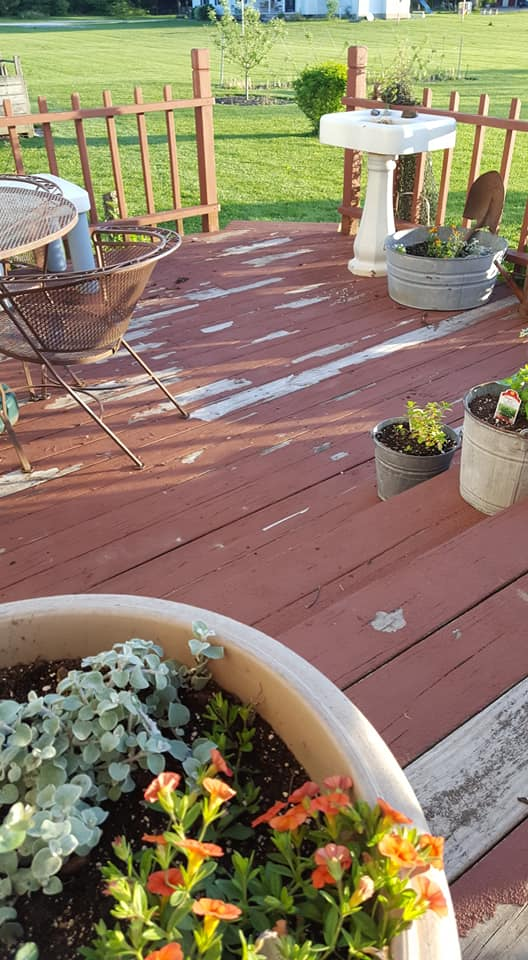 Behr Deckover, Olympic Rescue-It, Rust-Oleum Deck Restore