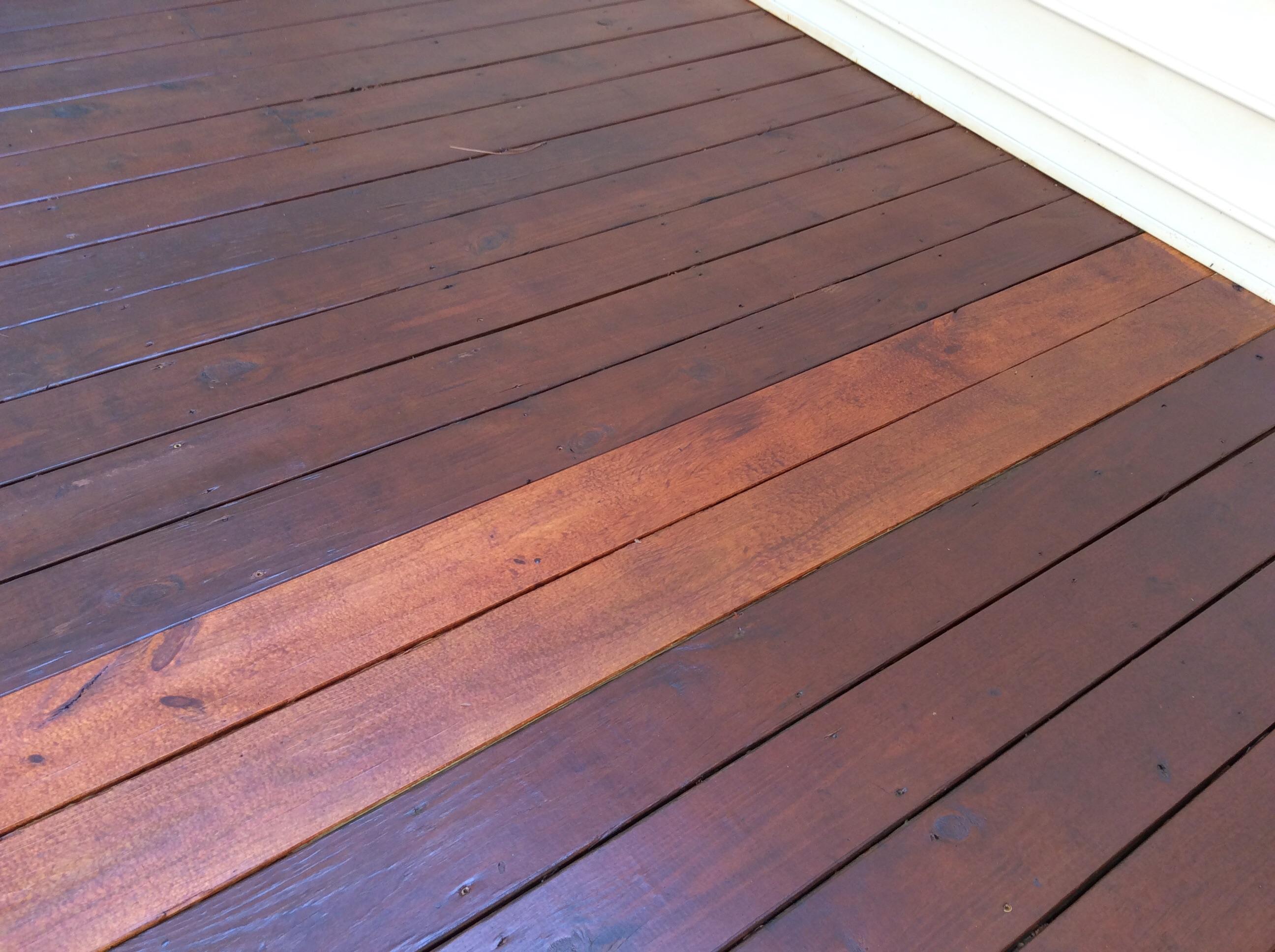 5 Months Ago Deck Stain Help