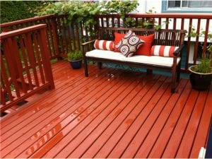 Solid Color Deck Stain
