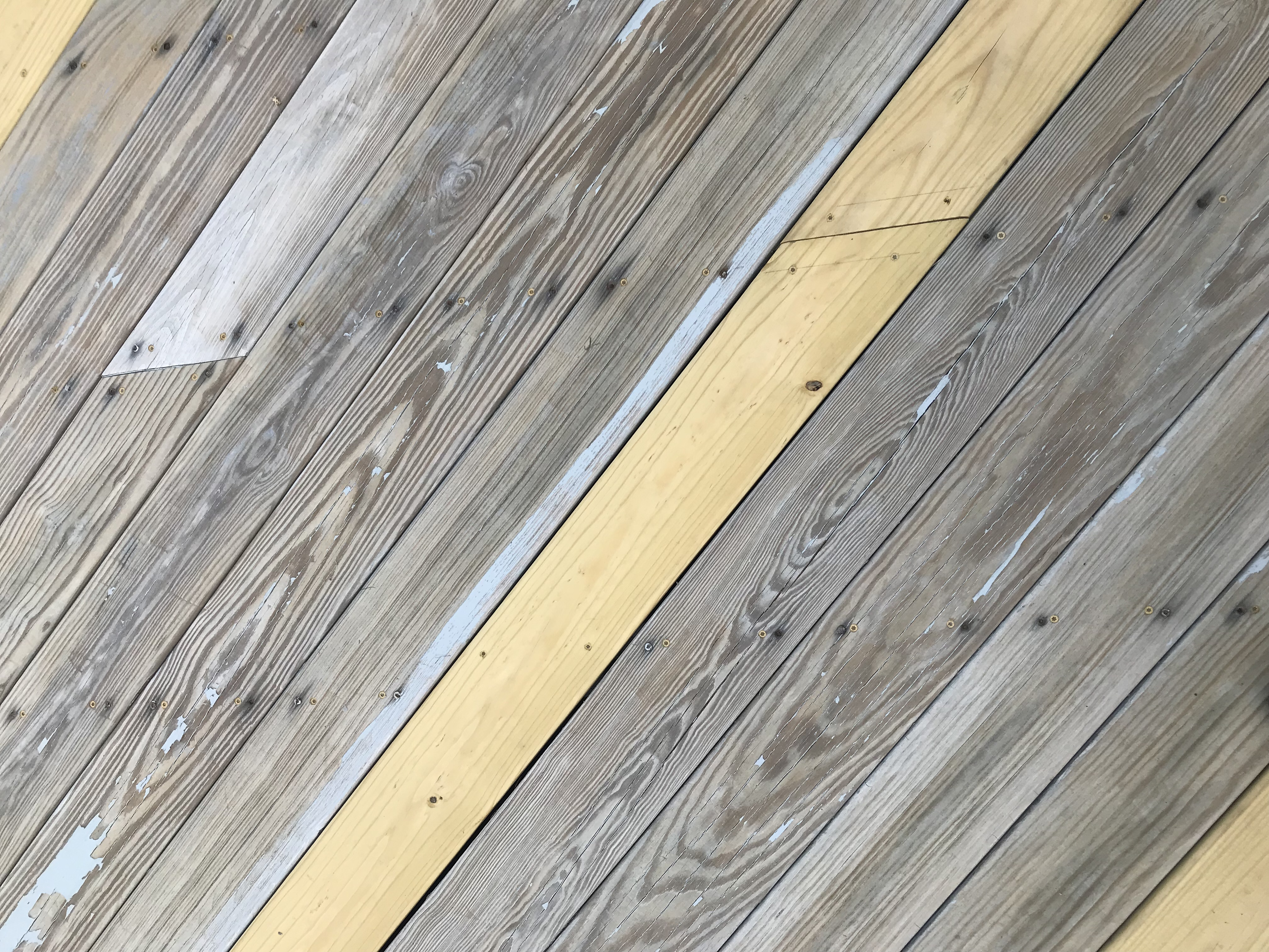how to get old stain off deck