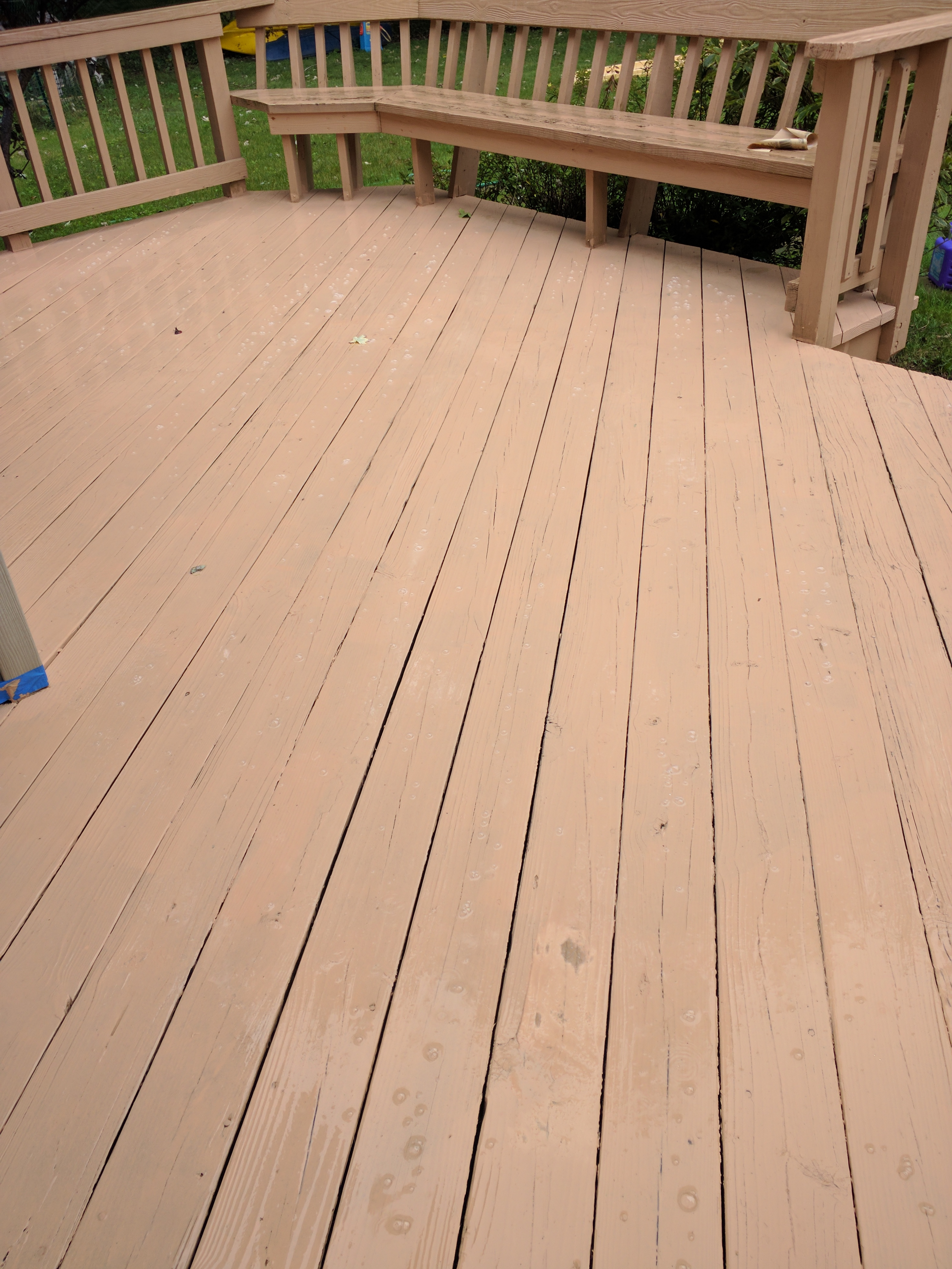 It Rained Shortly After Staining  What to do? | Best Deck