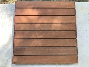 Restore-A-Deck Wood Stain 1 Hour After Prep