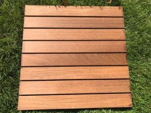 Restore-A-Deck Wood Stain On IPE.