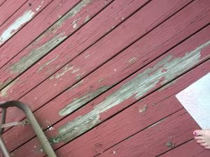 Behr Solid Color Deck Stain Peeling