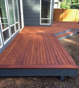 Deck Sealer And A Stain