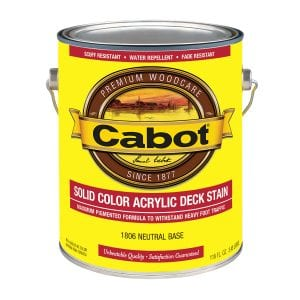 Cabot Solid Color Deck Stain Review