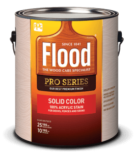 Flood Pro Series Solid Color Stain Review