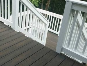 Two-Toned Deck Staining