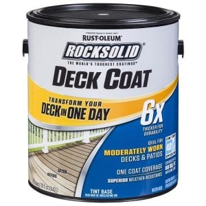 Rust-Oleum Rock Solid in A day Review