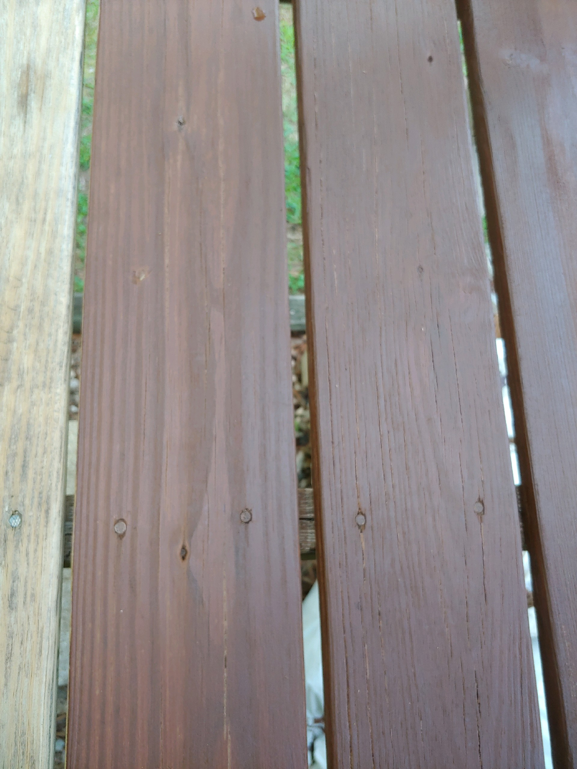 Deck Stripping Removing An Old Stain Best