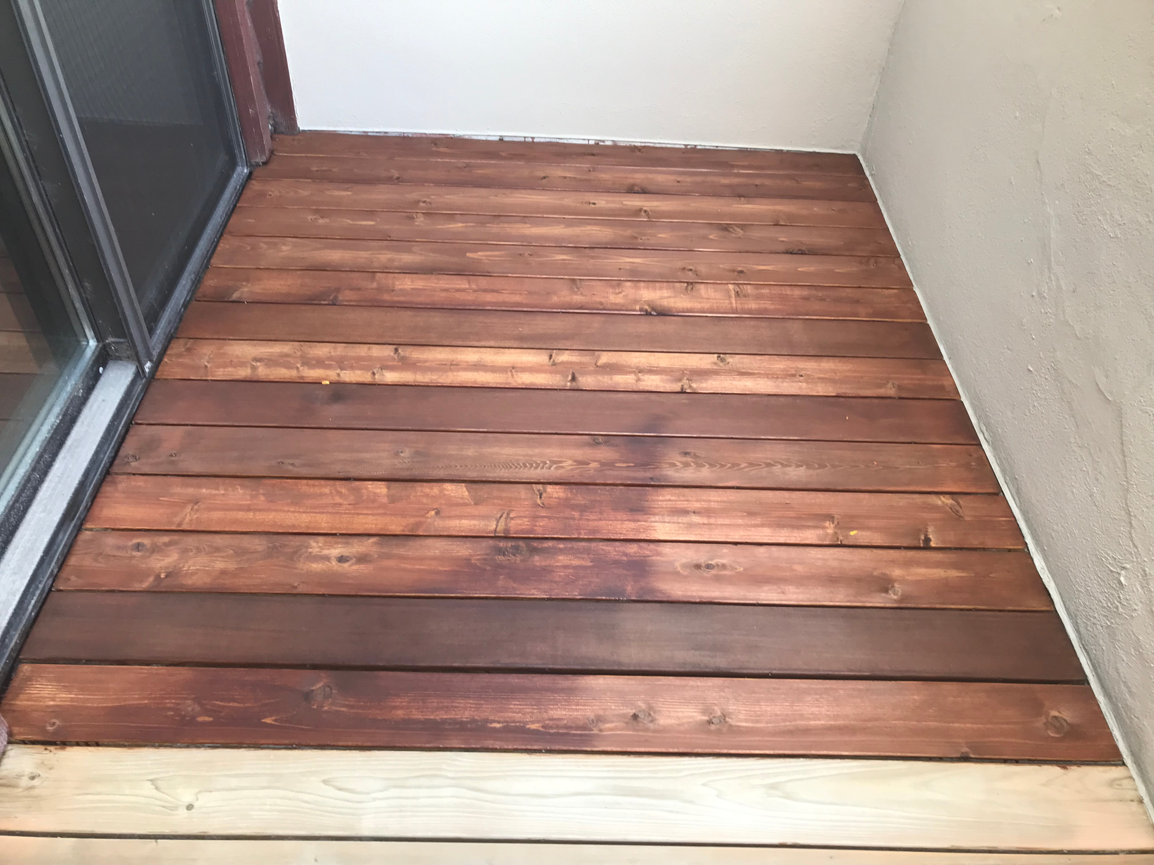 Fix Blotchy Deck Stain Questions And Answers