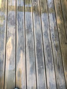 Deck Stain issue