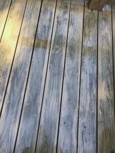 Deck Stain issue 1